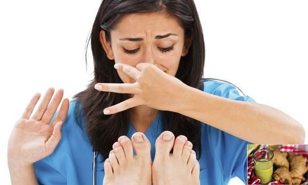cách chữa hôi chân khi đi giày