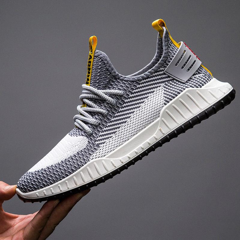 Giày Sneaker vải nam, đế cao su nguyên chất, thể thao, năng động – G136