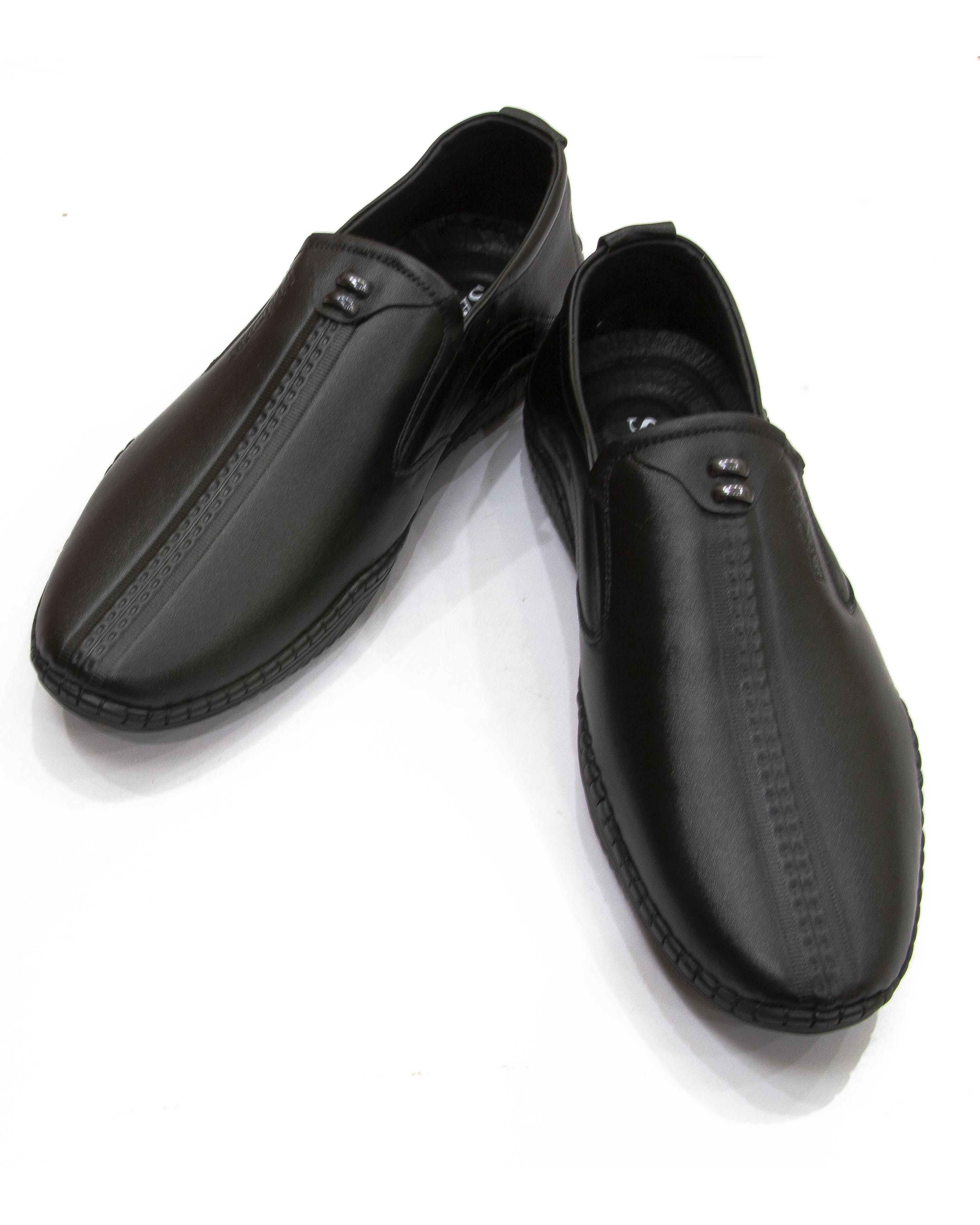 Giày lười da nam cao cấp, đế cao su chống trơn – GD05