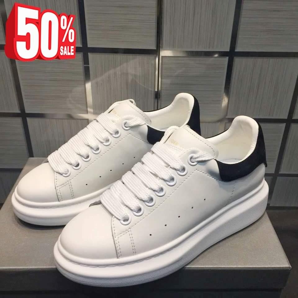 Giày Sneaker da trắng, đủ size cho nam và nữ – G142